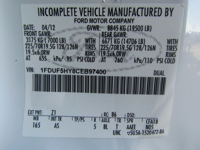2012 Ford F550 Fuel - Lube Truck 4x4 - 15117093 - 30