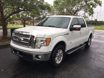 "2012 Ford F-150 2WD SuperCrew 145"" Lariat Truck"