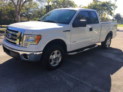 "2012 Ford F-150 4WD SuperCab 145"" XLT Truck"