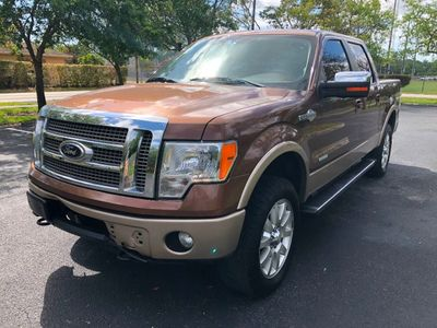 "2012 Ford F-150 4WD SuperCrew 145"" King Ranch Truck"