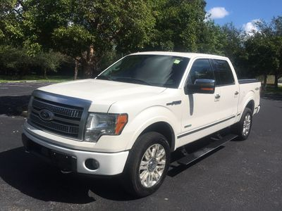 "2012 Ford F-150 4WD SuperCrew 145"" Platinum Truck"