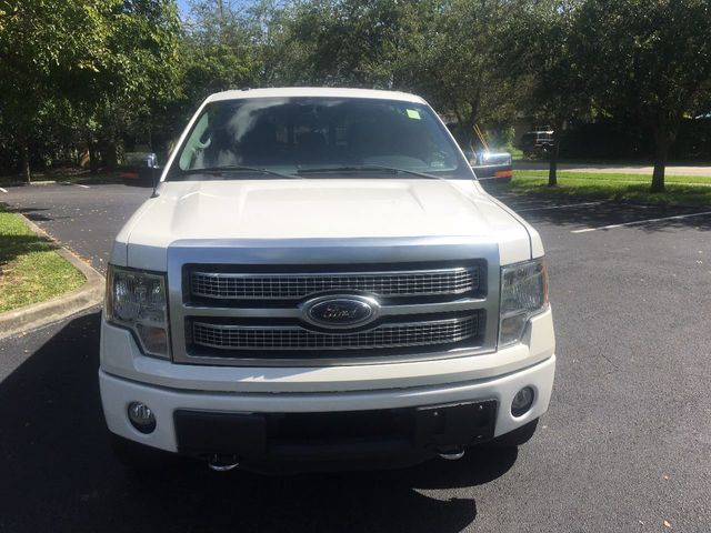 "2012 Ford F-150 4WD SuperCrew 145"" Platinum - Click to see full-size photo viewer"