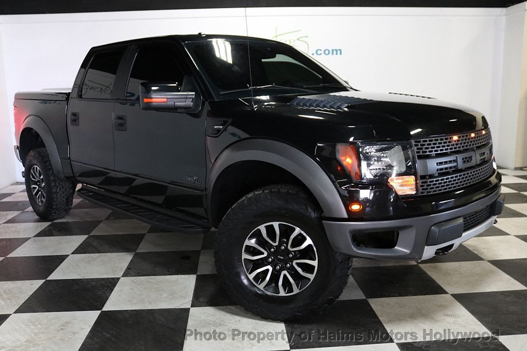 "2012 Ford F-150 4WD SuperCrew 145"" SVT Raptor - 18574876 - 3"