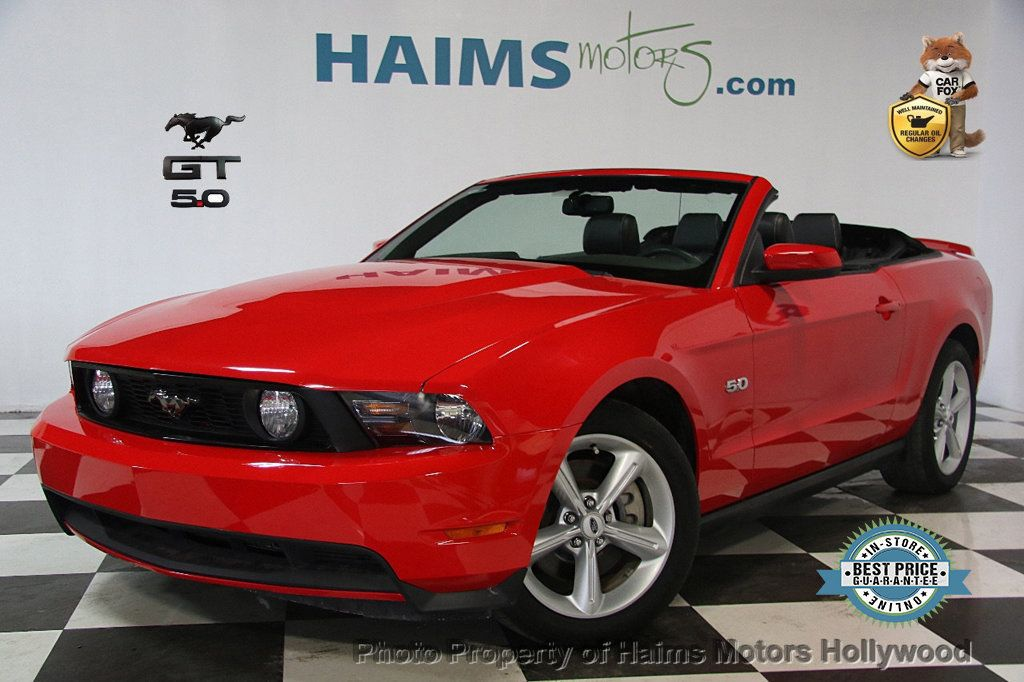 2012 used ford mustang 2dr convertible gt at haims motors. Black Bedroom Furniture Sets. Home Design Ideas