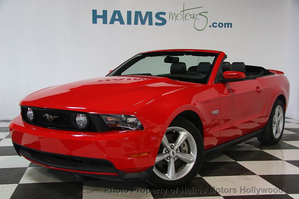 2012 Ford Mustang 2dr Convertible GT - 17235647 - 1