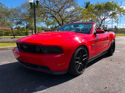 2012 Ford Mustang 2dr Convertible GT