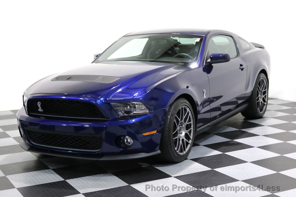 2012 Used Ford Mustang CERTIFIED SHELBY GT500 SVT PERF PACKAGE at ...