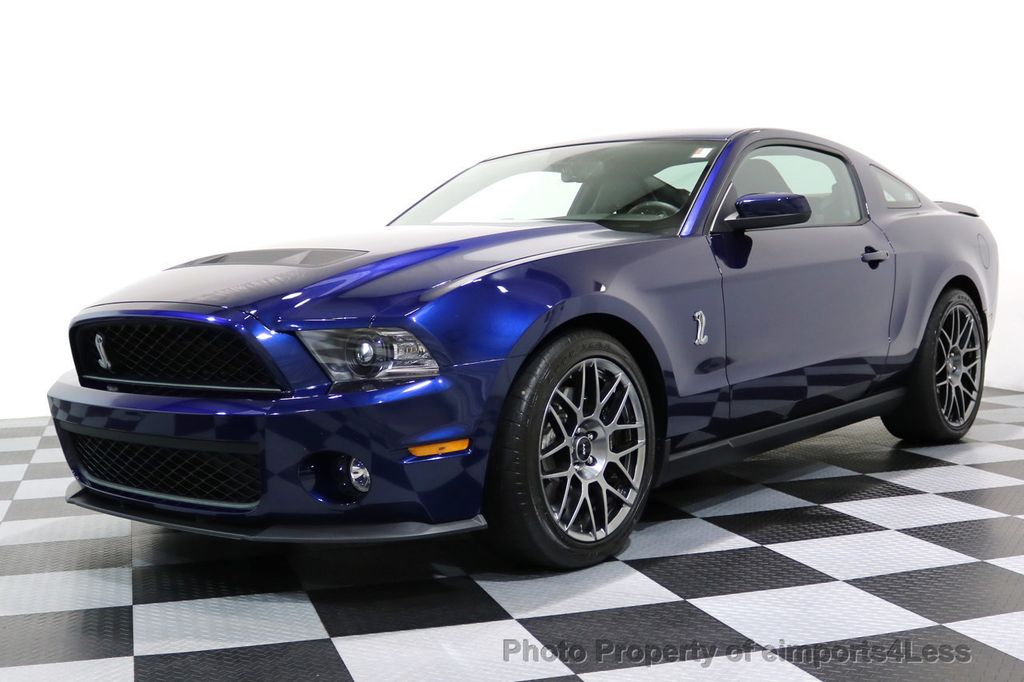 2012 Ford Mustang CERTIFIED SHELBY GT500 SVT PERF PACKAGE - 16938731 - 13