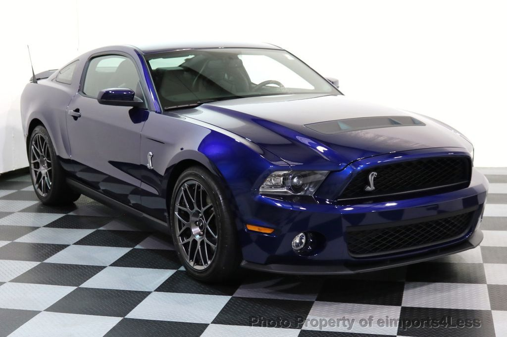 2012 Ford Mustang CERTIFIED SHELBY GT500 SVT PERF PACKAGE - 16938731 - 14