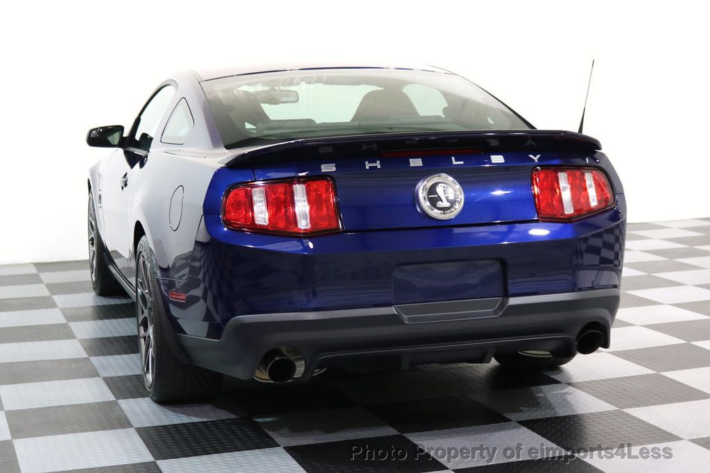 2012 Ford Mustang CERTIFIED SHELBY GT500 SVT PERF PACKAGE - 16938731 - 15