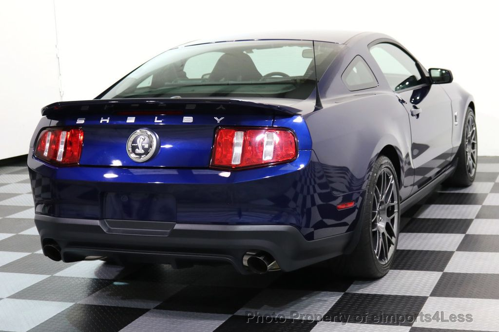 2012 Ford Mustang CERTIFIED SHELBY GT500 SVT PERF PACKAGE - 16938731 - 17
