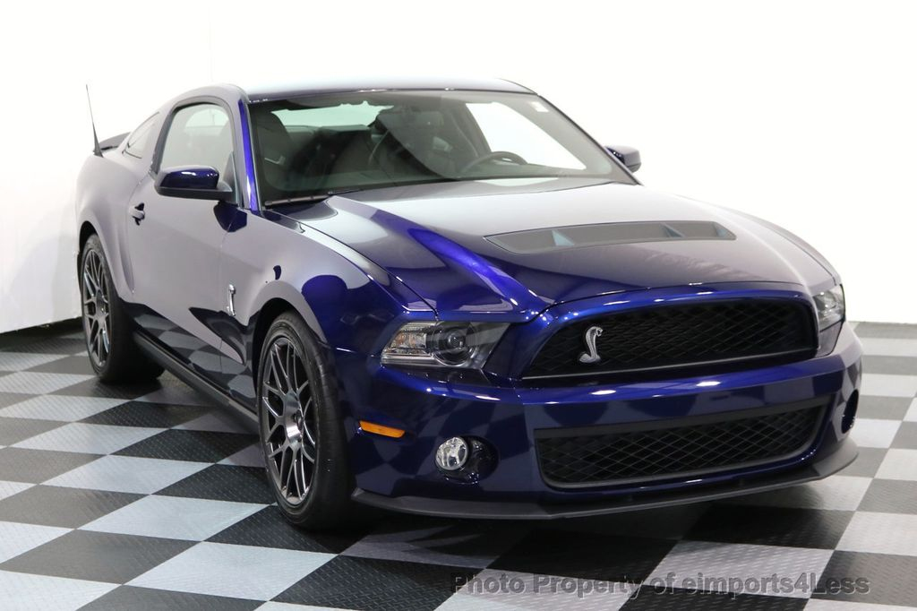 2012 Ford Mustang CERTIFIED SHELBY GT500 SVT PERF PACKAGE - 16938731 - 1