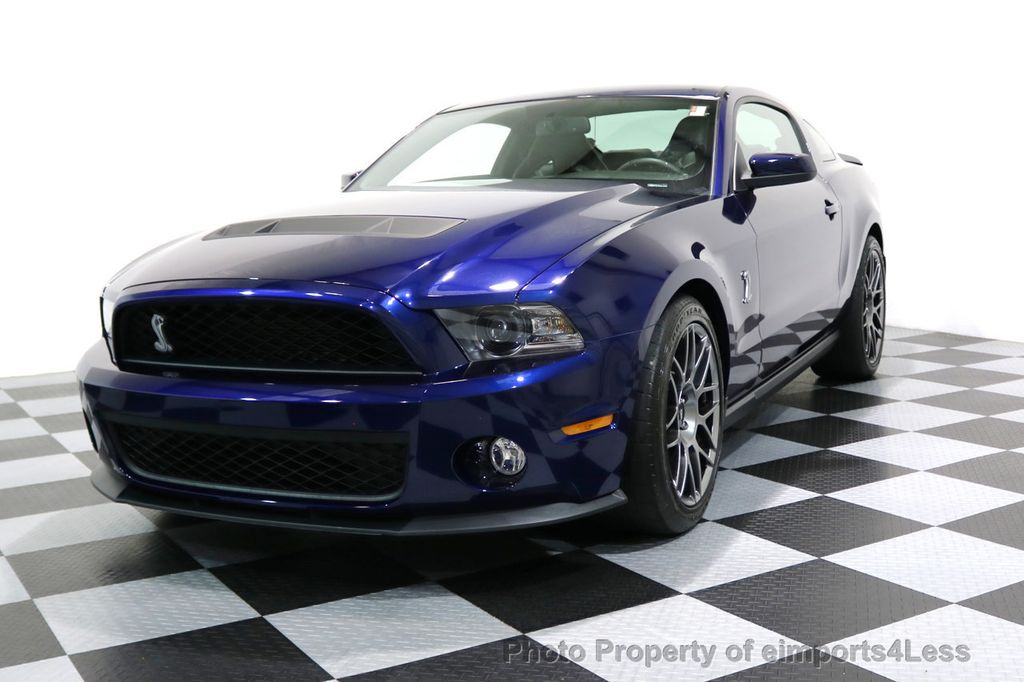 2012 Ford Mustang CERTIFIED SHELBY GT500 SVT PERF PACKAGE - 16938731 - 27