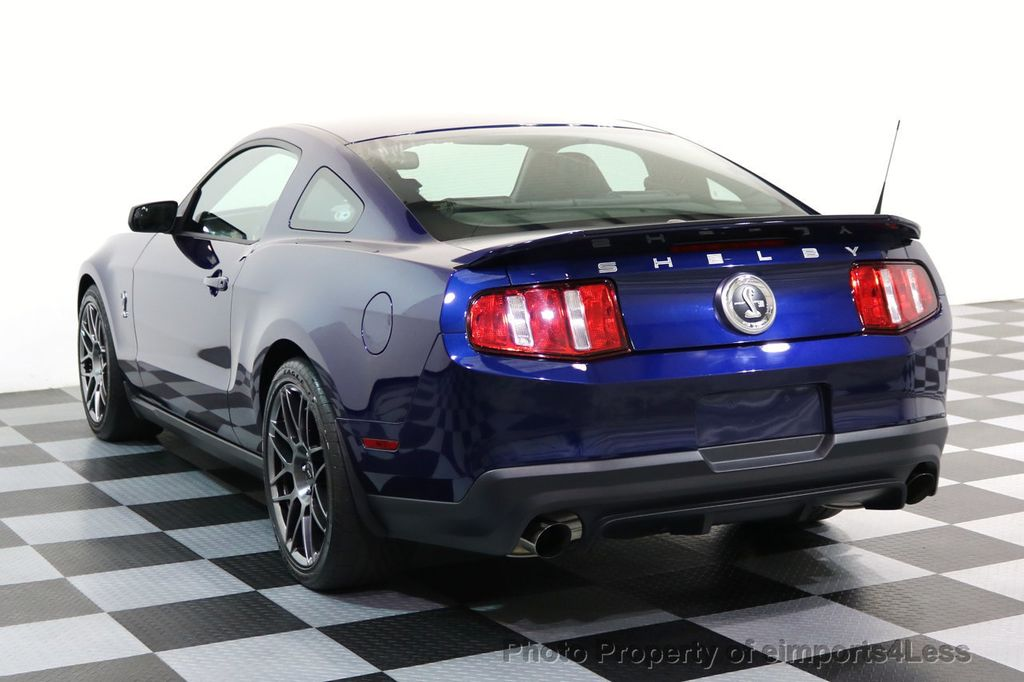 2012 Ford Mustang CERTIFIED SHELBY GT500 SVT PERF PACKAGE - 16938731 - 2