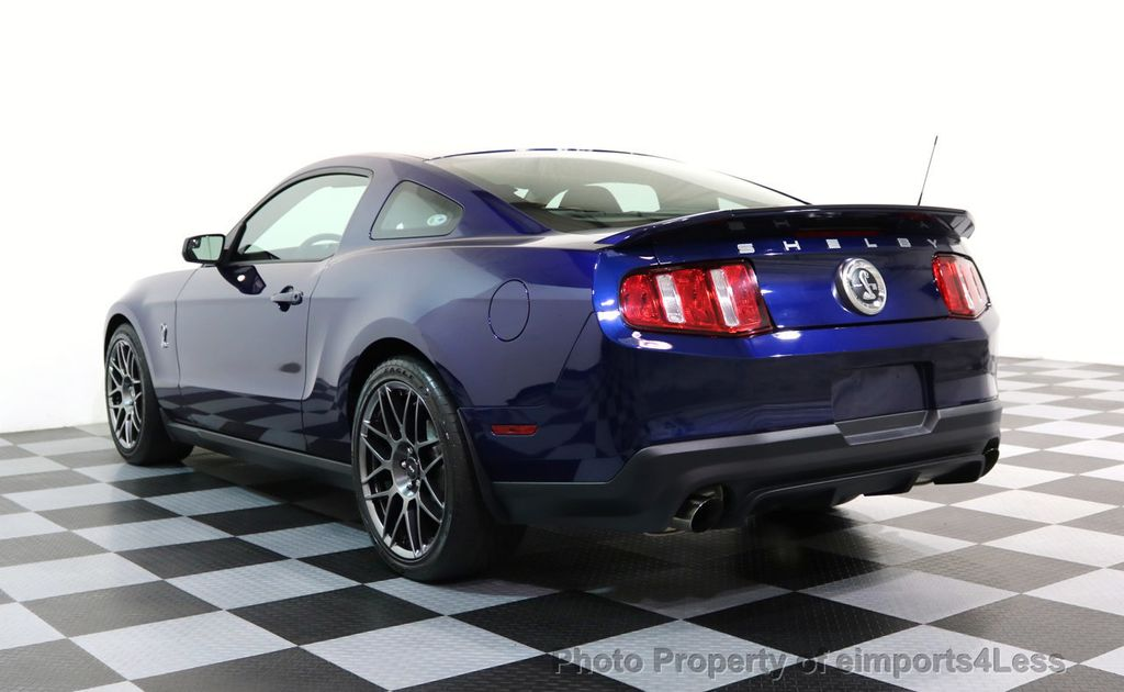 2012 Ford Mustang CERTIFIED SHELBY GT500 SVT PERF PACKAGE - 16938731 - 29