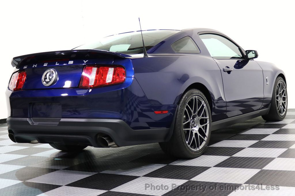 2012 Ford Mustang CERTIFIED SHELBY GT500 SVT PERF PACKAGE - 16938731 - 31