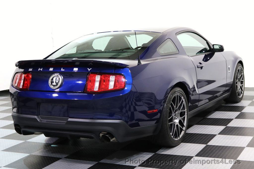 2012 Ford Mustang CERTIFIED SHELBY GT500 SVT PERF PACKAGE - 16938731 - 3