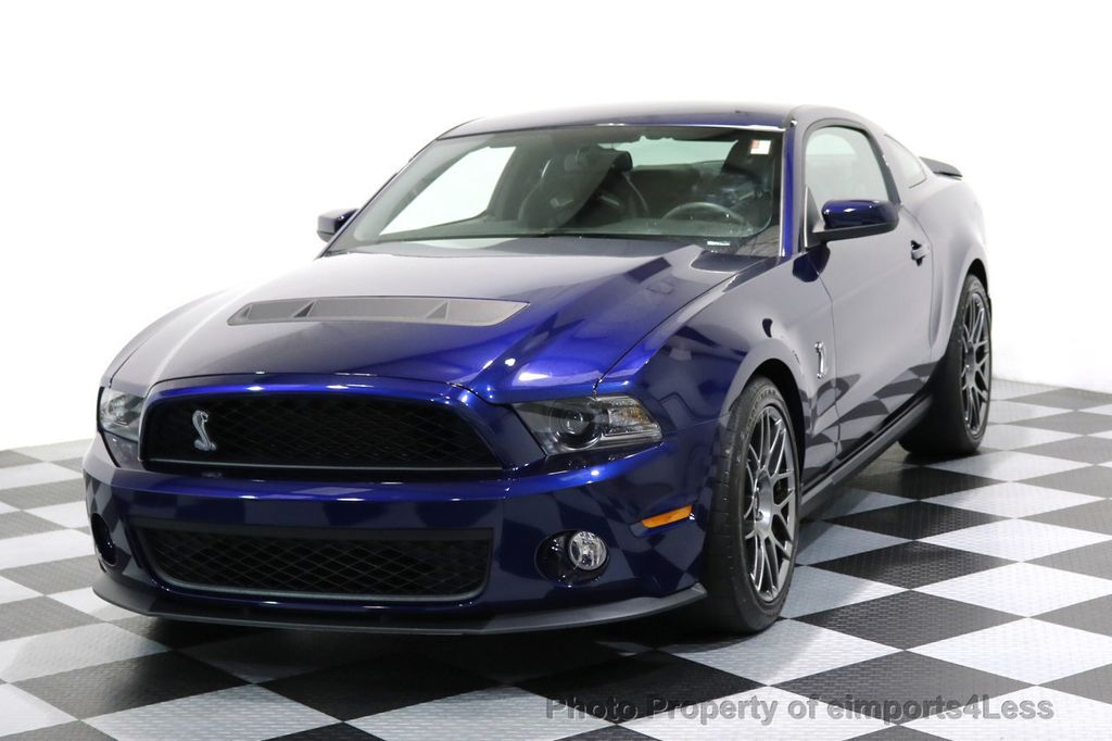 2012 Ford Mustang CERTIFIED SHELBY GT500 SVT PERF PACKAGE - 16938731 - 40