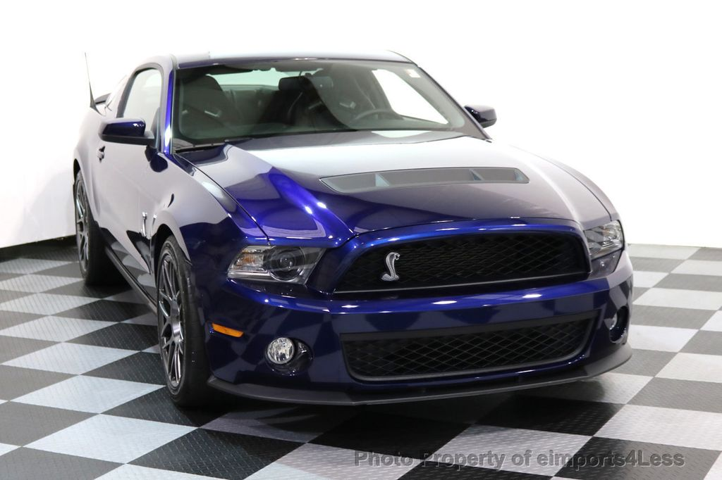 2012 Ford Mustang CERTIFIED SHELBY GT500 SVT PERF PACKAGE - 16938731 - 41