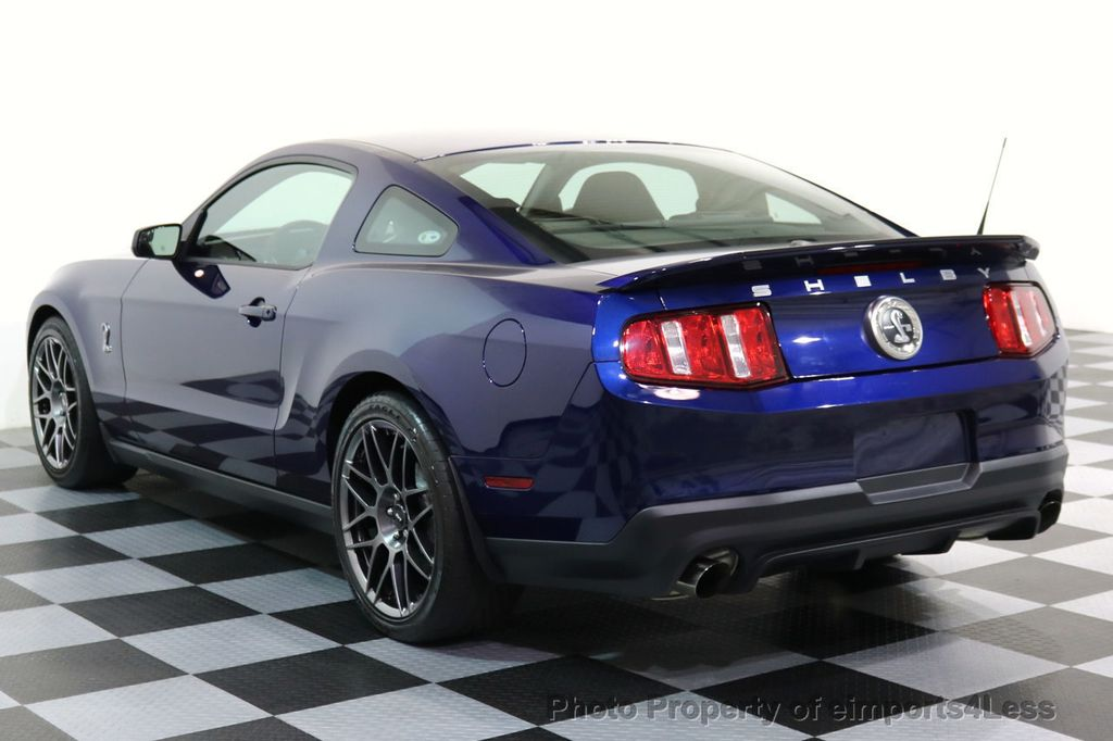 2012 Ford Mustang CERTIFIED SHELBY GT500 SVT PERF PACKAGE - 16938731 - 42