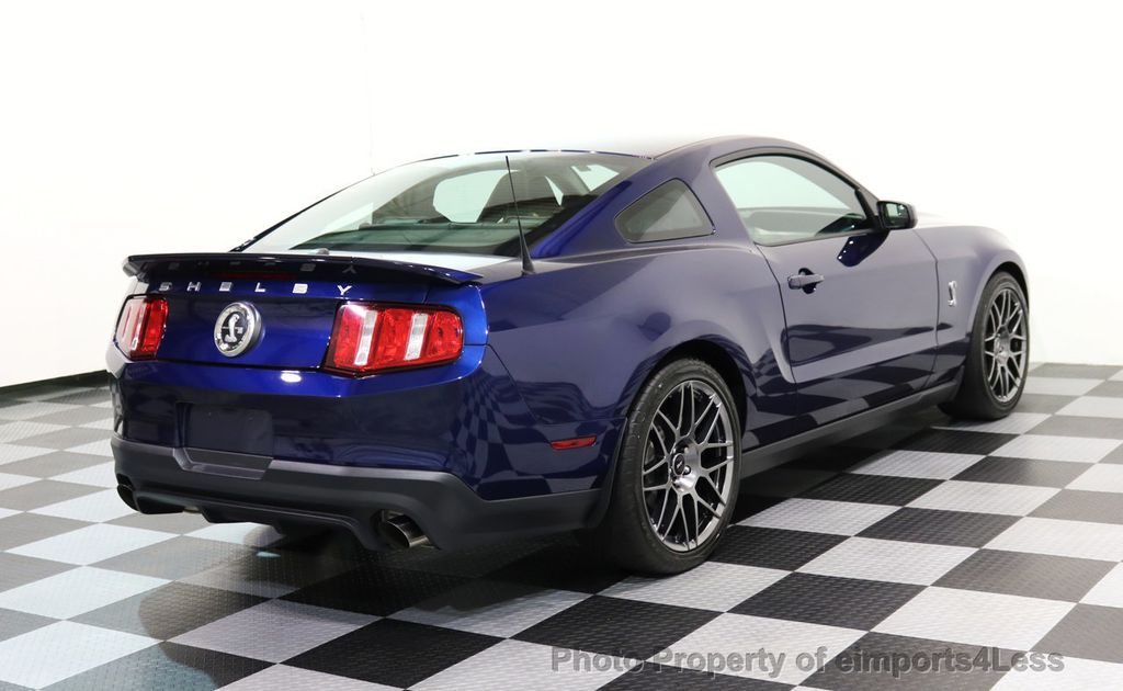 2012 Ford Mustang CERTIFIED SHELBY GT500 SVT PERF PACKAGE - 16938731 - 43