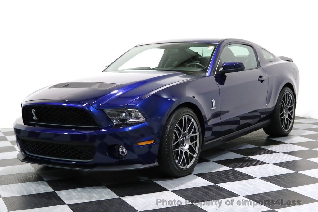 2012 Ford Mustang CERTIFIED SHELBY GT500 SVT PERF PACKAGE - 16938731 - 44
