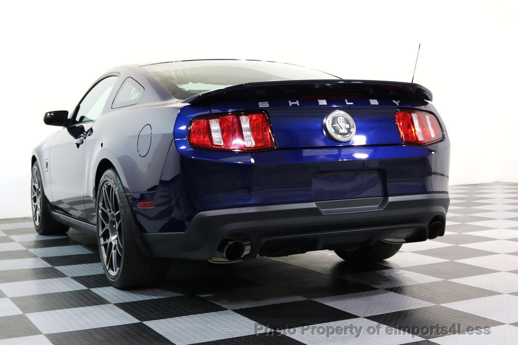 2012 Ford Mustang CERTIFIED SHELBY GT500 SVT PERF PACKAGE - 16938731 - 45