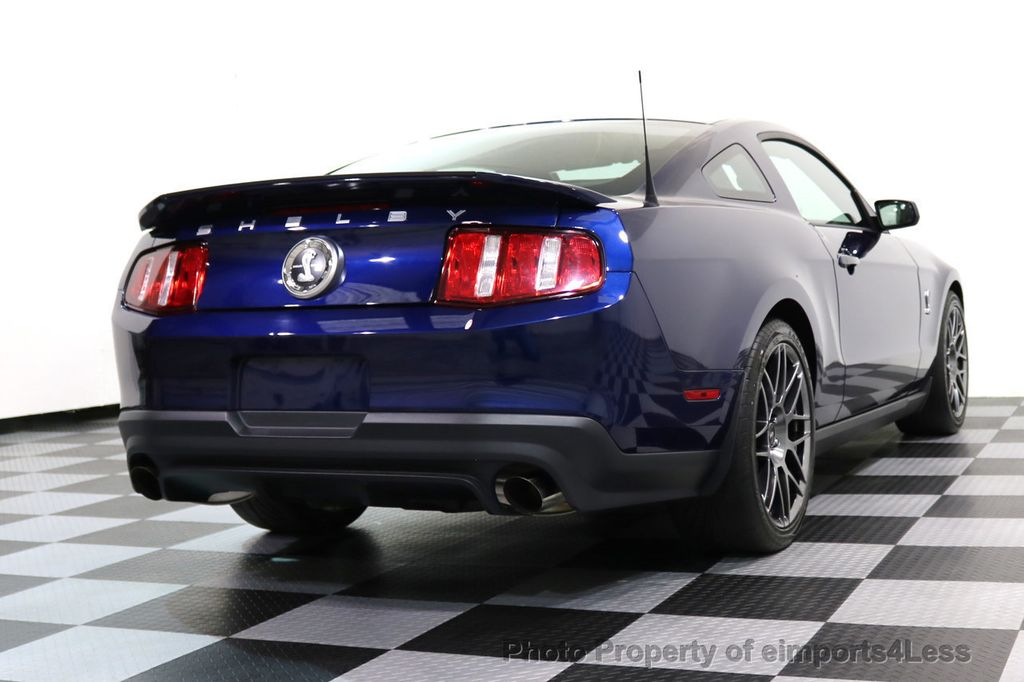 2012 Ford Mustang CERTIFIED SHELBY GT500 SVT PERF PACKAGE - 16938731 - 46