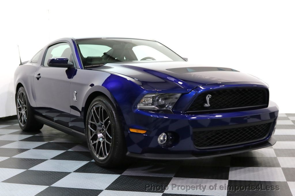 2012 Ford Mustang CERTIFIED SHELBY GT500 SVT PERF PACKAGE - 16938731 - 47