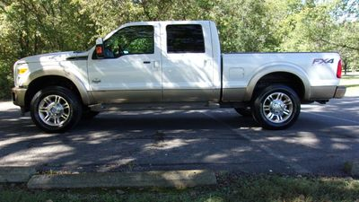 "2012 Ford Super Duty F-250 SRW 4WD Crew Cab 156"" King Ranch Truck"