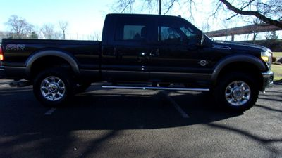 """2012 Ford Super Duty F-250 SRW 4WD Crew Cab 156"""" Lariat - Click to see full-size photo viewer"""