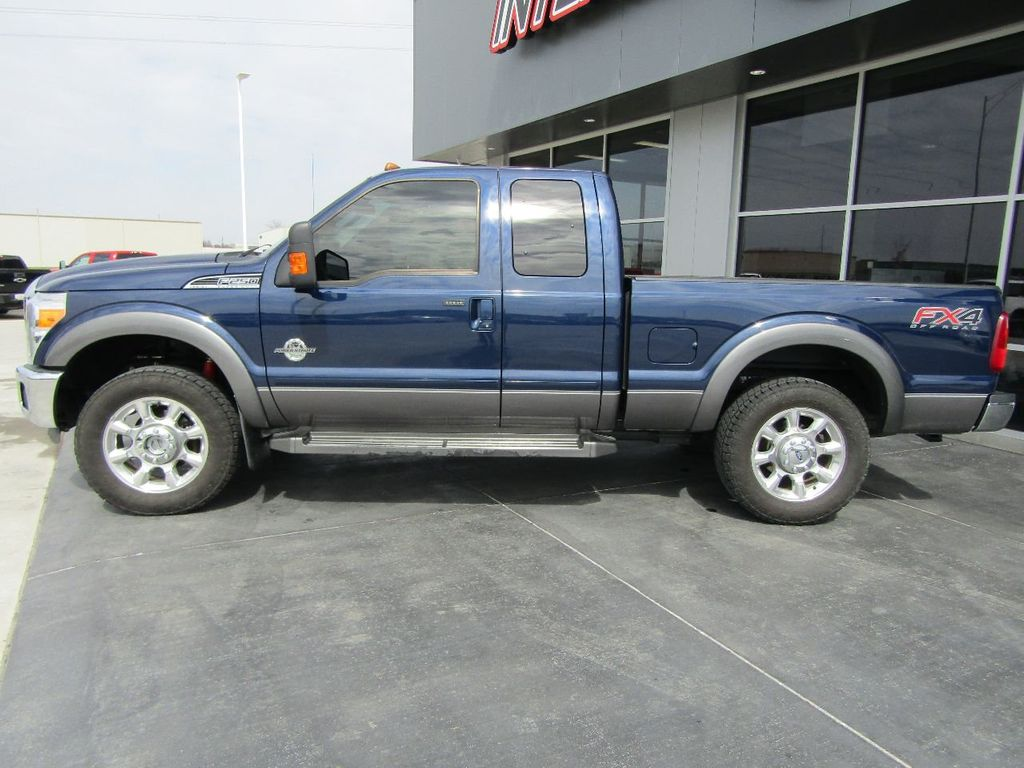 2012 used ford super duty f 250 srw 4wd supercab 142 lariat at the