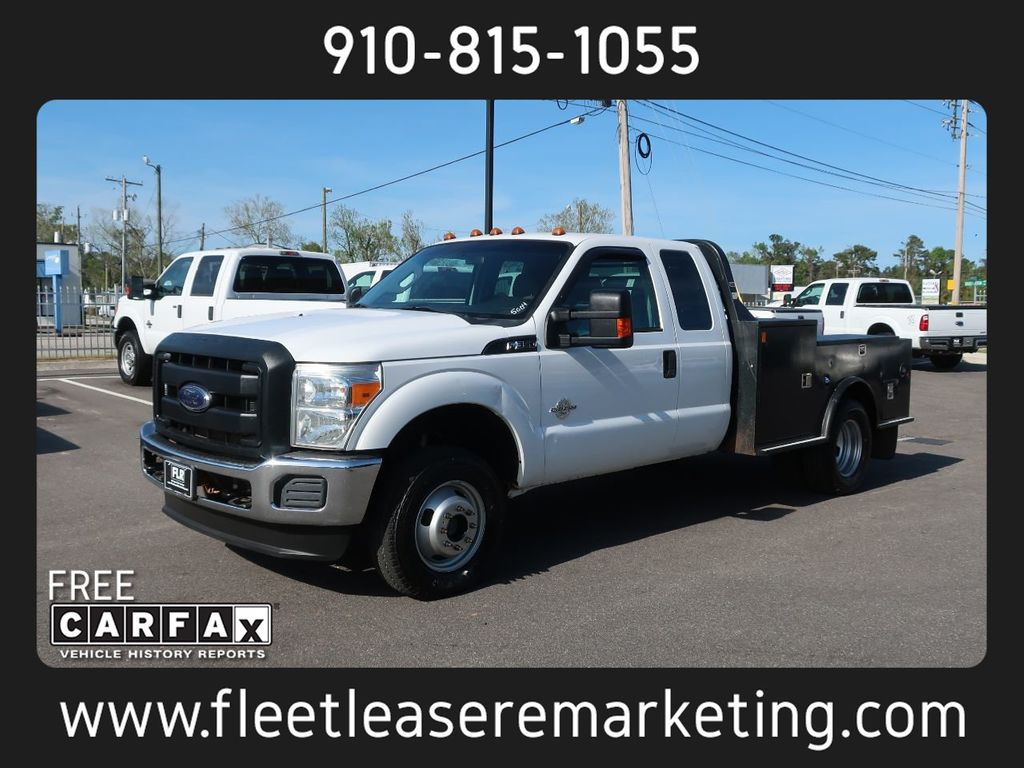 2012 Ford Super Duty F-350 4WD DRW Utility Body 4WD DRW Utility Body Extended Cab Powerstroke Diesel - 18795852 - 0