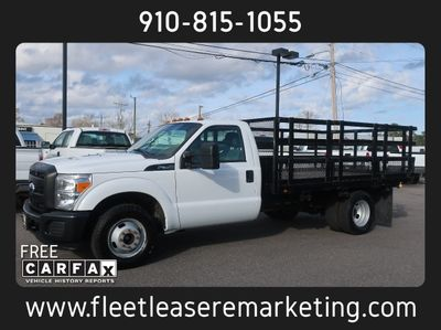 2012 Ford Super Duty F-350 DRW 11 Foot Stake Bed