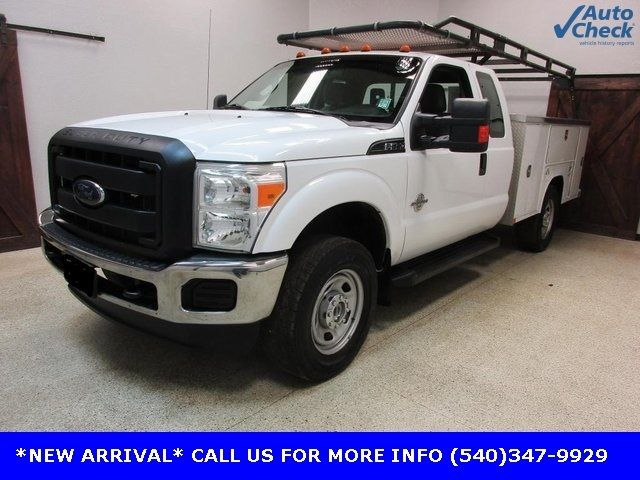 2012 Ford Super Duty F-350 SRW Cab-Chassis F350 SUPERCAB 4X4 * 6.7 POWERSTROKE * OPEN UTILITY - 17391104 - 0
