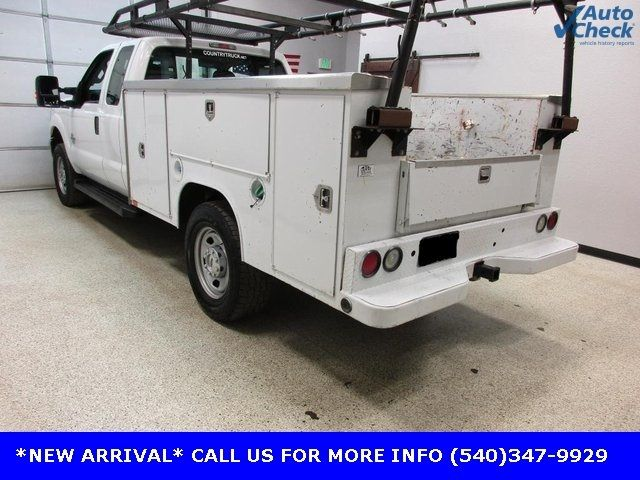 2012 Ford Super Duty F-350 SRW Cab-Chassis F350 SUPERCAB 4X4 * 6.7 POWERSTROKE * OPEN UTILITY - 17391104 - 2