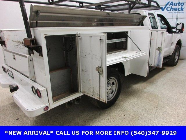 2012 Ford Super Duty F-350 SRW Cab-Chassis F350 SUPERCAB 4X4 * 6.7 POWERSTROKE * OPEN UTILITY - 17391104 - 5