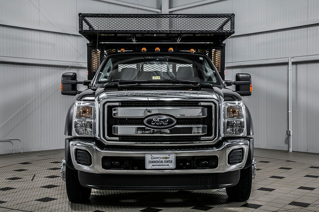 2012 Ford Super Duty F-450 DRW Cab-Chassis F450 REG CAB XL * 6.7 POWERSTROKE * 10' STAKE BODY * 1 OWNER - 16588093 - 1