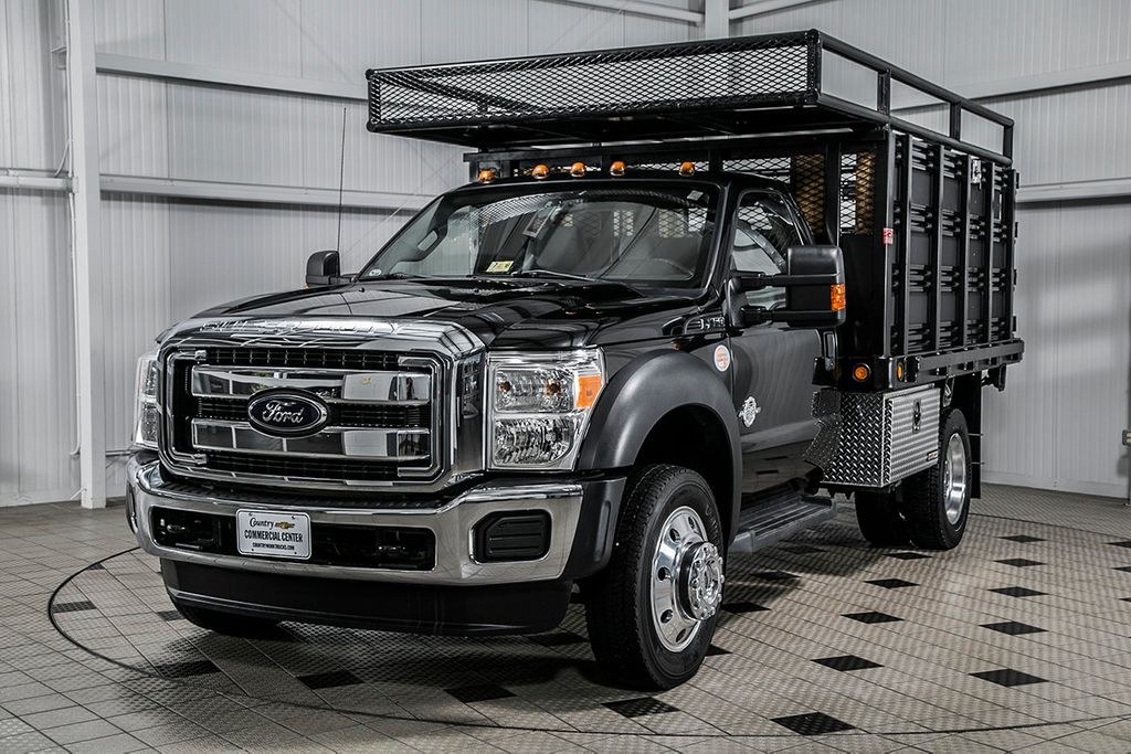 2012 Ford Super Duty F-450 DRW Cab-Chassis F450 REG CAB XL * 6.7 POWERSTROKE * 10' STAKE BODY * 1 OWNER - 16588093 - 2