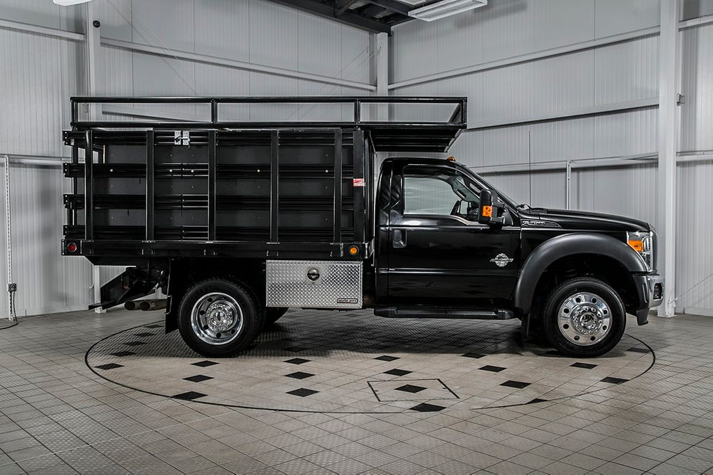 2012 Ford Super Duty F-450 DRW Cab-Chassis F450 REG CAB XL * 6.7 POWERSTROKE * 10' STAKE BODY * 1 OWNER - 16588093 - 6