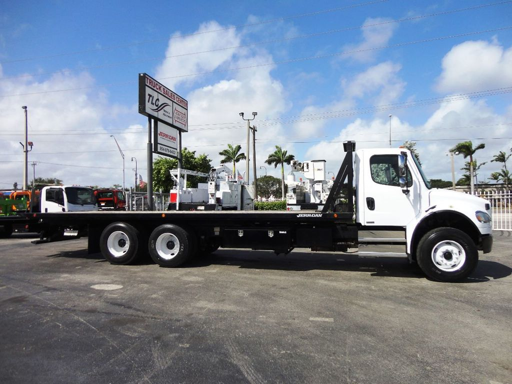 2012 Freightliner BUSINESS CLASS M2 28FT 15 TON ROLLBACK INDUSTRIAL JERRDAN.. TANDEM AXLE.. - 19177978 - 28