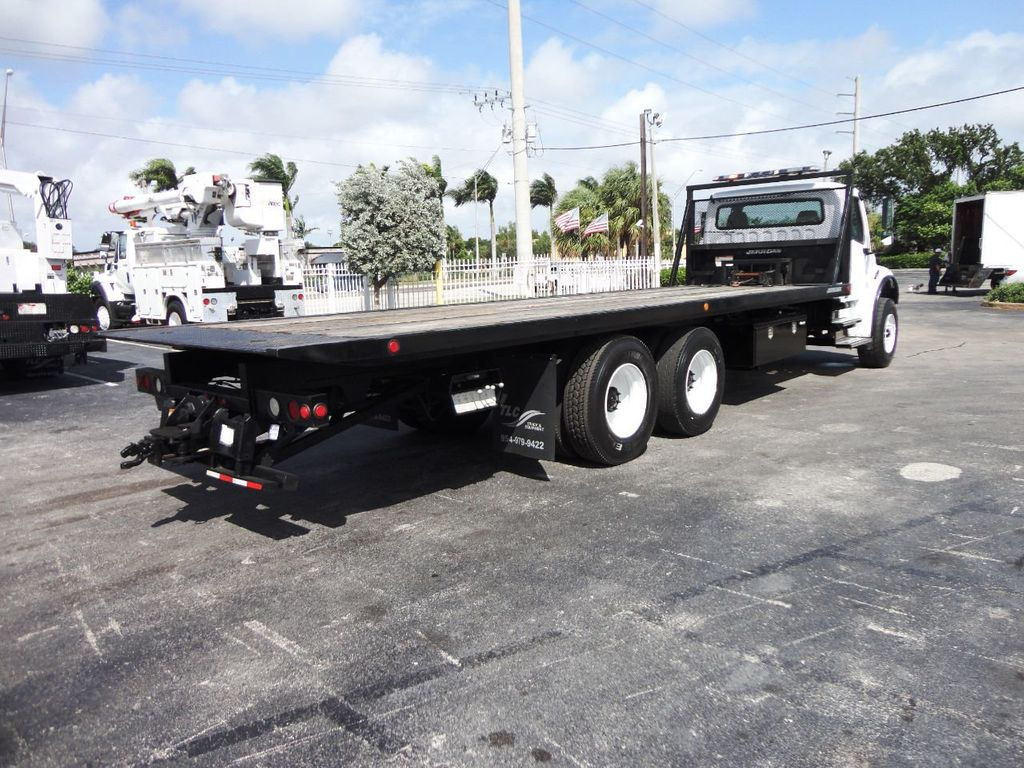 2012 Freightliner BUSINESS CLASS M2 28FT 15 TON ROLLBACK INDUSTRIAL JERRDAN.. TANDEM AXLE.. - 19177978 - 29