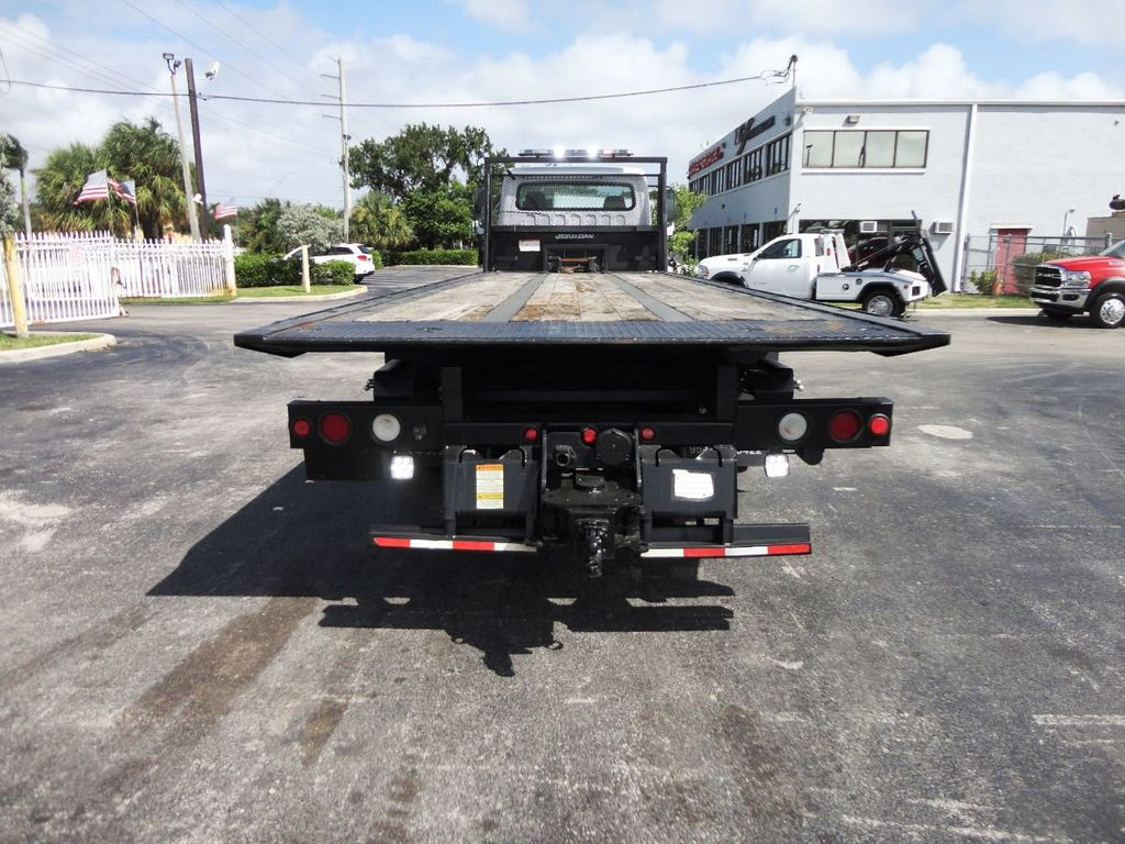2012 Freightliner BUSINESS CLASS M2 28FT 15 TON ROLLBACK INDUSTRIAL JERRDAN.. TANDEM AXLE.. - 19177978 - 30