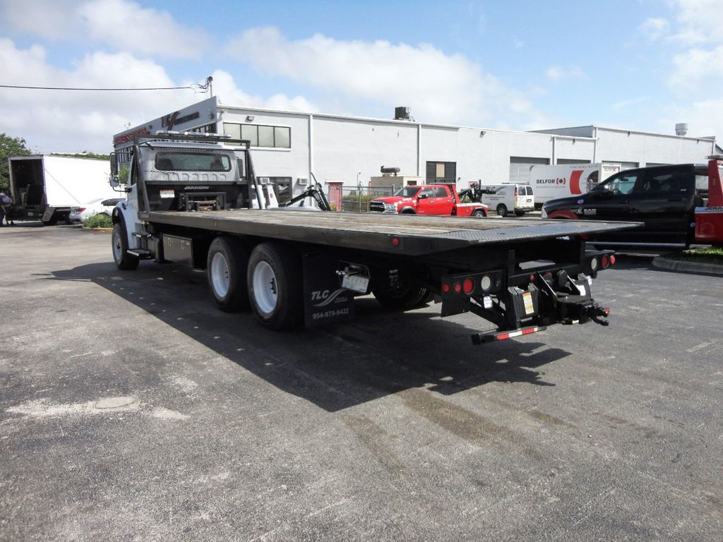 2012 Freightliner BUSINESS CLASS M2 28FT 15 TON ROLLBACK INDUSTRIAL JERRDAN.. TANDEM AXLE.. - 19177978 - 31