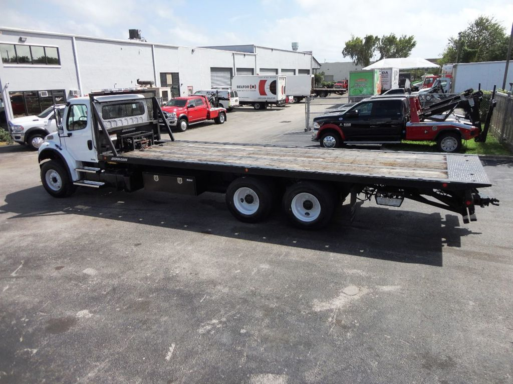2012 Freightliner BUSINESS CLASS M2 28FT 15 TON ROLLBACK INDUSTRIAL JERRDAN.. TANDEM AXLE.. - 19177978 - 32