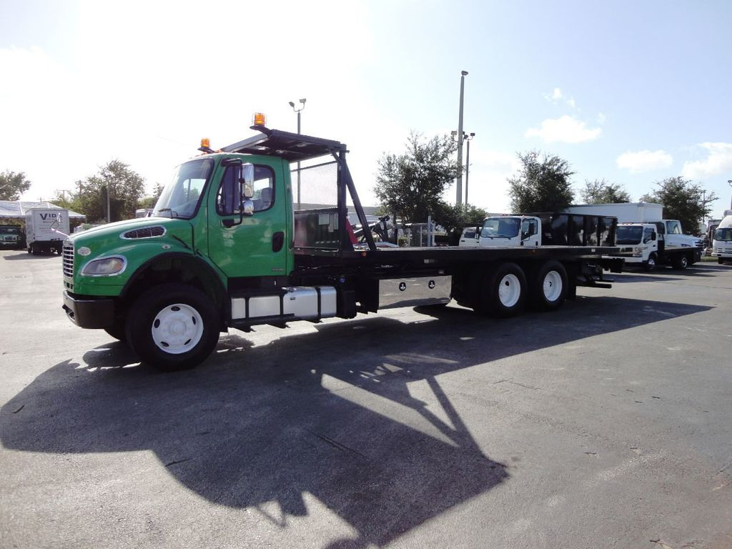 2012 Freightliner BUSINESS CLASS M2 28FT 15 TON ROLLBACK INDUSTRIAL JERRDAN.. TANDEM AXLE.. - 19381720 - 9