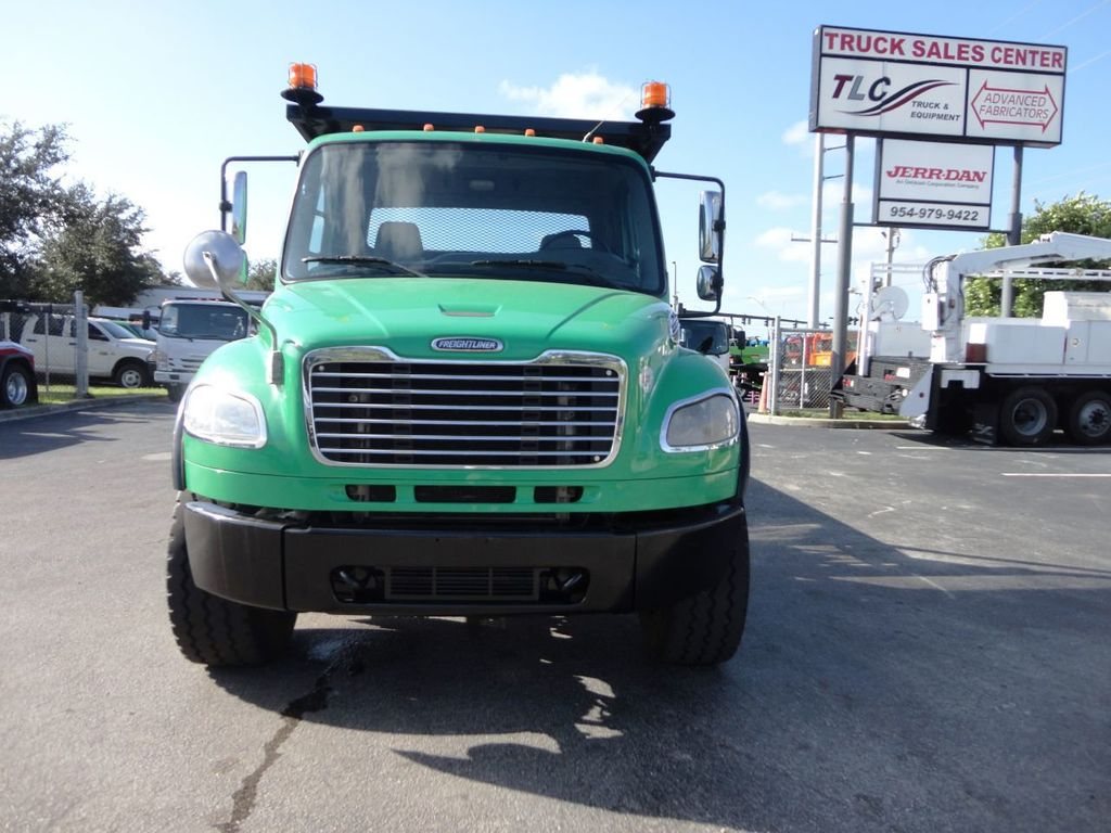 2012 Freightliner BUSINESS CLASS M2 28FT 15 TON ROLLBACK INDUSTRIAL JERRDAN.. TANDEM AXLE.. - 19381720 - 11