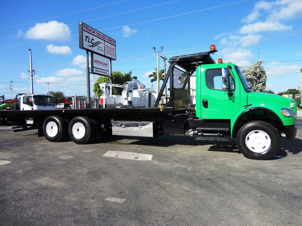 2012 Freightliner BUSINESS CLASS M2 28FT 15 TON ROLLBACK INDUSTRIAL JERRDAN.. TANDEM AXLE.. - 19381720 - 1