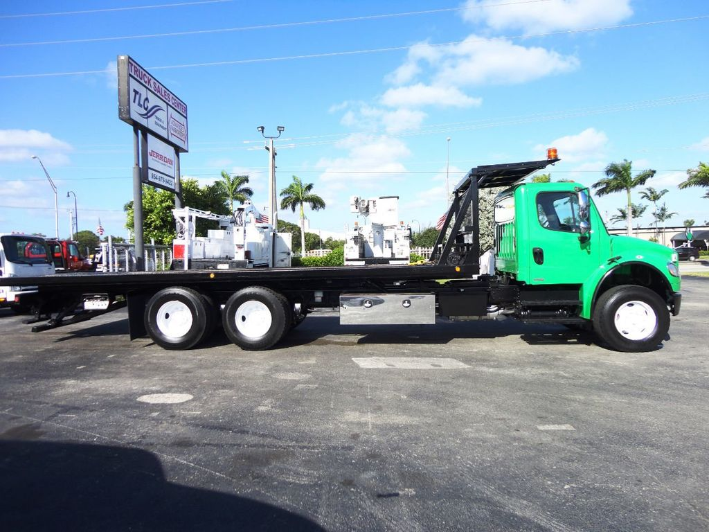 2012 Freightliner BUSINESS CLASS M2 28FT 15 TON ROLLBACK INDUSTRIAL JERRDAN.. TANDEM AXLE.. - 19381720 - 2