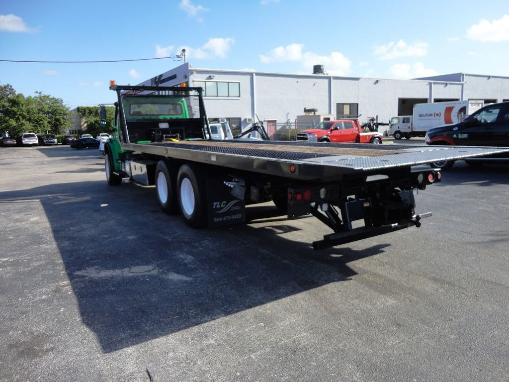 2012 Freightliner BUSINESS CLASS M2 28FT 15 TON ROLLBACK INDUSTRIAL JERRDAN.. TANDEM AXLE.. - 19381720 - 6